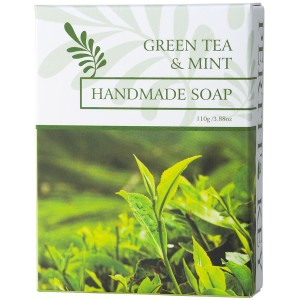 Greent Tea & Mint Handmade Soap