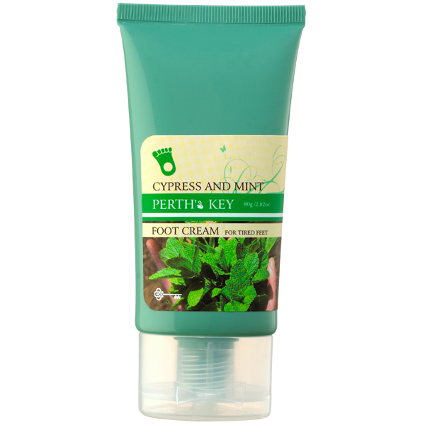 Foot Cream of Cypress and Mint
