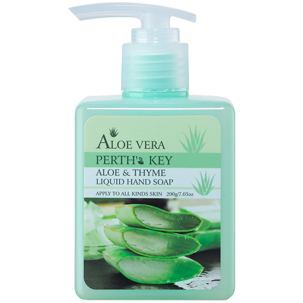 aloe and thyme liquid hand soap